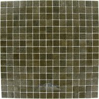 "Vicenza Mosaico Glass Tiles - Touch Glass Tile - 3/4"" Glass Film-Faced Sheets In Earth"
