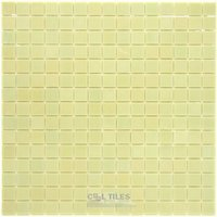 "Vicenza Mosaico Glass Tiles - Luxor 3/4"" Glass - 3/4"" Glass Film-Faced Sheets in Peaceful"
