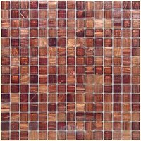 "Vicenza Mosaico Glass Tiles - Spark 3/4"" Glass - 3/4"" Glass Film-Faced Sheets in Maribella"