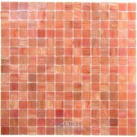 "Vicenza Mosaico Glass Tiles - Spark 3/4"" Glass - 3/4"" Glass Film-Faced Sheets in Katina"