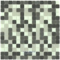 "Vicenza Mosaico Glass Tiles - Mosaic Blends 3/4"" - Film-Faced Sheets in Family"