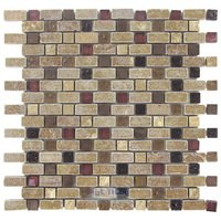 Illusion Glass Tile - Inspiration - Stone, Glass & Metal Mosaic Tile in Tudor