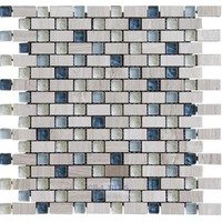 Illusion Glass Tile - Inspiration - Glass and Stone Mosaic Tile in Blue Crush