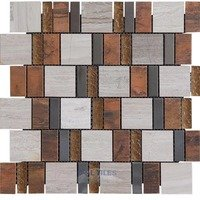 Illusion Glass Tile - Inspiration - Stone, Glass and Metal Mosaic Tile in Splendor