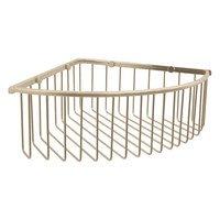Valsan - Essentials - Large Deep Corner Basket in Chrome