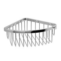 Valsan - Classic - Deep Corner Basket in Chrome