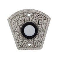 Vicenza Hardware - San Michele - Floral Design in Satin Nickel