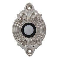 Vicenza Hardware - Sforza - Sforza Ornate Design in Satin Nickel