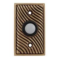 Vicenza Hardware - Door Bell - Wave Design in Satin Nickel