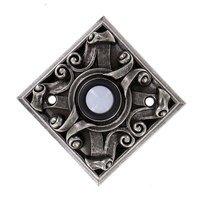 Vicenza Hardware - Sforza - Diamond Sforza Ornate Design in Satin Nickel