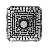 Vicenza Hardware - Tiziano - Dots Design in Satin Nickel