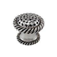 "Vicenza Hardware - Tiziano - Large Knob 1 1/4"" in Satin Nickel"