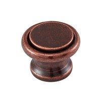 "Vicenza Hardware - Archimedes - Large Knob 1 1/4"" in Satin Nickel"