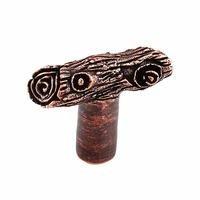 Vicenza Hardware - Pollino - Tree Branch Knob in Satin Nickel