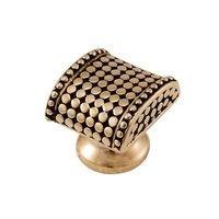 Vicenza Hardware - Tiziano - Small Spotted Knob in Satin Nickel