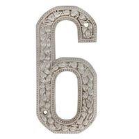 Vicenza Hardware - San Michele - 6 Number in Satin Nickel