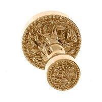"Vicenza Hardware - San Michele - 1 1/4"" Bath Post / Robe Hook in Satin Nickel"