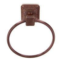 Vicenza Hardware - Tiziano - Towel Ring in Satin Nickel