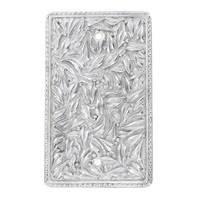 Vicenza Hardware - San Michele - Single Blank in Satin Nickel