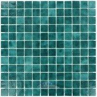 "Vidrepur - Colors - 1"" x 1"" Colors II Recycled Glass Tile in Sea Foam"