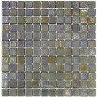 Vidrepur - Deco - Recycled Glass Tile Mesh Backed Sheet in Metalic