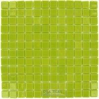 Vidrepur - Lisos - Recycled Glass Tile Mesh Backed Sheet in Pistachio