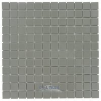 "Vidrepur - Essentials - 1"" x 1"" Recycled Glass Tile on 12 1/2"" x 12 1/2"" Meshed Backed Sheet in Toffee"