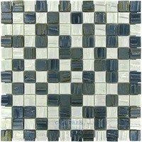 Vidrepur - Moon - Recycled Glass Tile in Tuxedo Moon