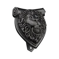 Vicenza Hardware - Door Knocker - Sforza Knocker in Satin Nickel