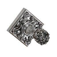 Vicenza Hardware - Sforza - Robe Hook in Satin Nickel