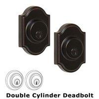 Weslock Door Hardware - Elegance Premiere Deadbolts - Premiere Single Deadbolt Lock in Oil Rubbed Bronze