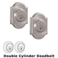 Weslock Door Hardware - Elegance Premiere Deadbolts - Premiere Double Deadbolt Lock in Satin Nickel
