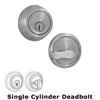 Weslock Door Hardware - Traditionale 671 Deadbolts - Model 671 Single Deadbolt Lock in Oil Rubbed Bronze