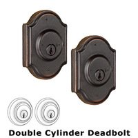 Weslock Door Hardware - Molten Bronze Premiere Deadbolts - Premiere Single Deadbolt Lock in Oil Rubbed Bronze