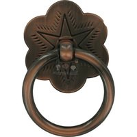 "Wild Western Hardware - Oil Rubbed Copper - 1 3/4"" Diameter Ring Pull in Oil Rubbed Copper"
