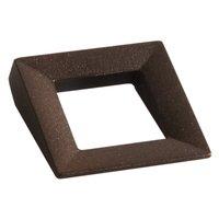 """Zen Designs - Dharma - Handle Centers 1 1/4"""" in Antique Rust"""