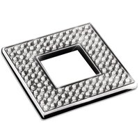 "Zen Designs - Diamond - Square Knob Width 2 3/8"" x Height 2 3/8"" in Polished Chrome With Swarovski Crystals"