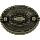 "Abstract Designs - Tuscany - 2 1/4"" Centers Drop Pull in Antique Brass"