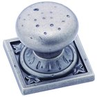 Amerock - Ambrosia - Weathered Nickel Euro Stone Square Knob