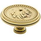 "Baldwin Hardware - Polished Brass - 2"" Diameter Ornamental Knob in Polished Brass"