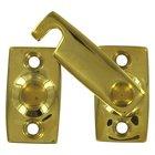 "Deltana Hardware - Solid Brass Shutter Door Latches - Solid Brass 7/8"" Shutter Bar/Door Latch in PVD Brass"