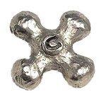 Emenee - Bathtime - Cold Faucet Knob in Antique Matte Silver