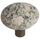 Deluxe Knob in Winter Morning Granite