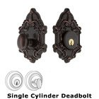 Nostalgic Warehouse - Single Deadbolt - Victorian Deadbolt in Timeless Bronze