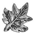 Sierra Lifestyles - Woodlands Design - Maple Leaf Knob in Pewter