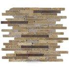 Metal & Stone Mosaic Tile in Pinnacles Fault Line