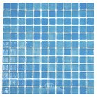 Vidrepur - Nieblas - Recycled Glass Tile Mesh Backed Sheet in Fog Sky Blue