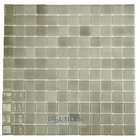 Vidrepur - Nieblas - Recycled Glass Tile Mesh Backed Sheet in Fog Grey